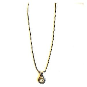 Brighton Two tone rope necklace